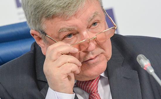Полномочный представитель вСибирском федеральном округе Николай Рогожкин