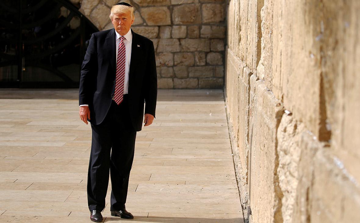 Дональд Трамп в Иерусалиме. 22 мая 2017 года