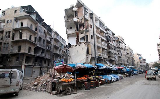 Город Алеппо, 10 февраля 2016 года