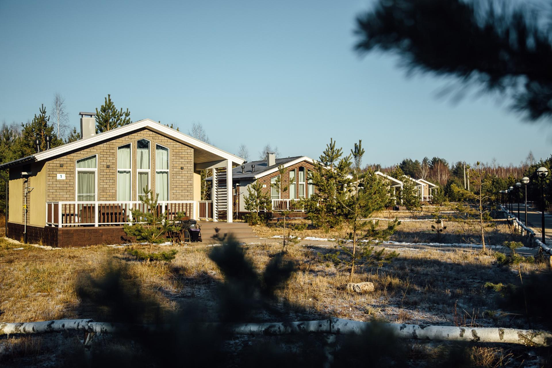 Гостевые дома в парке «Поляны»