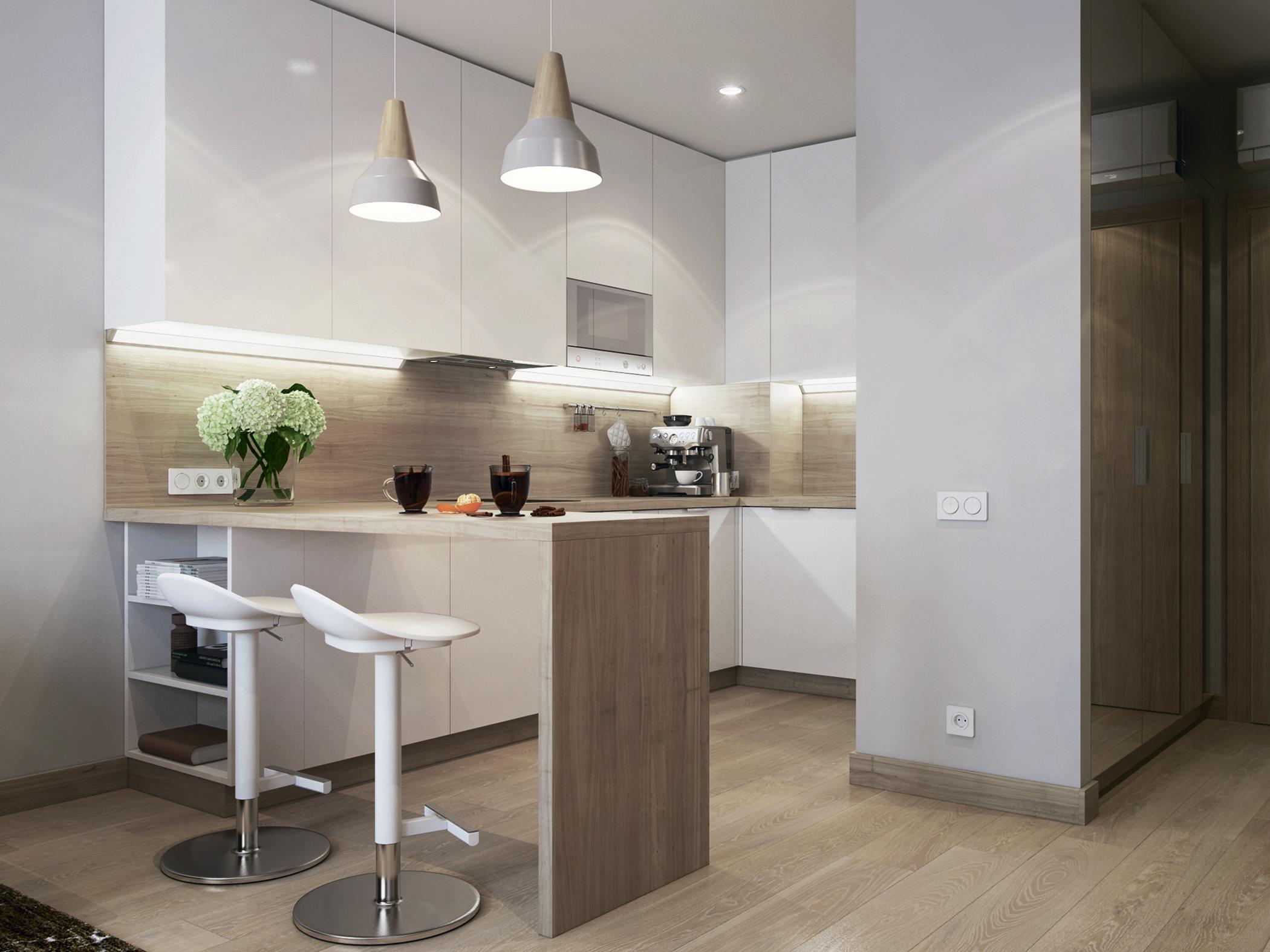 Интерьеры апартаментов YE'S Botanica и YE'S Technopark