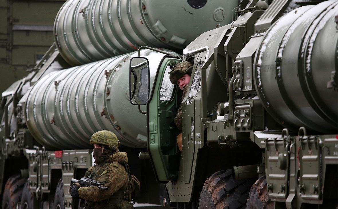 Зенитные управляемые ракеты системы С-400