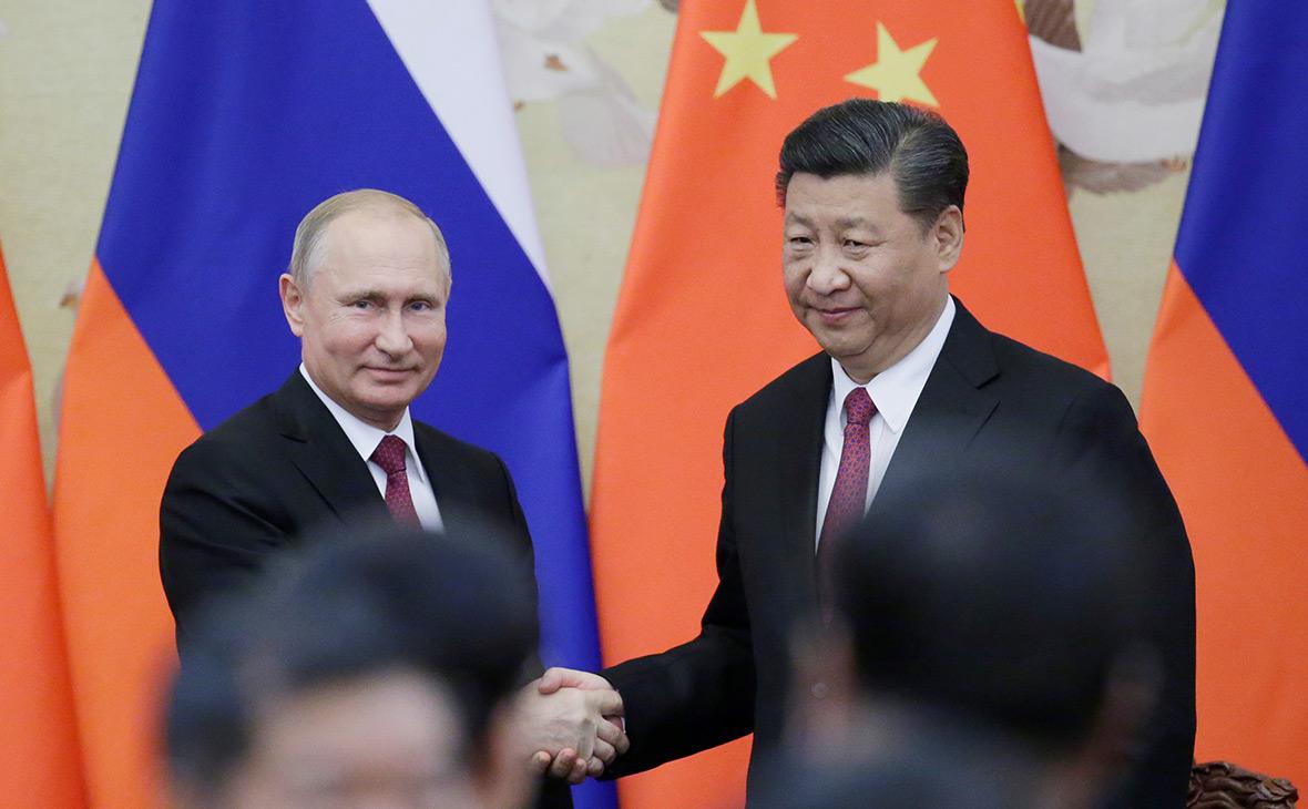 Владимир Путин иСи Цзиньпин