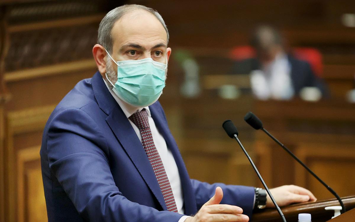 Пашинян назвал сроки отставки с поста премьера Армении