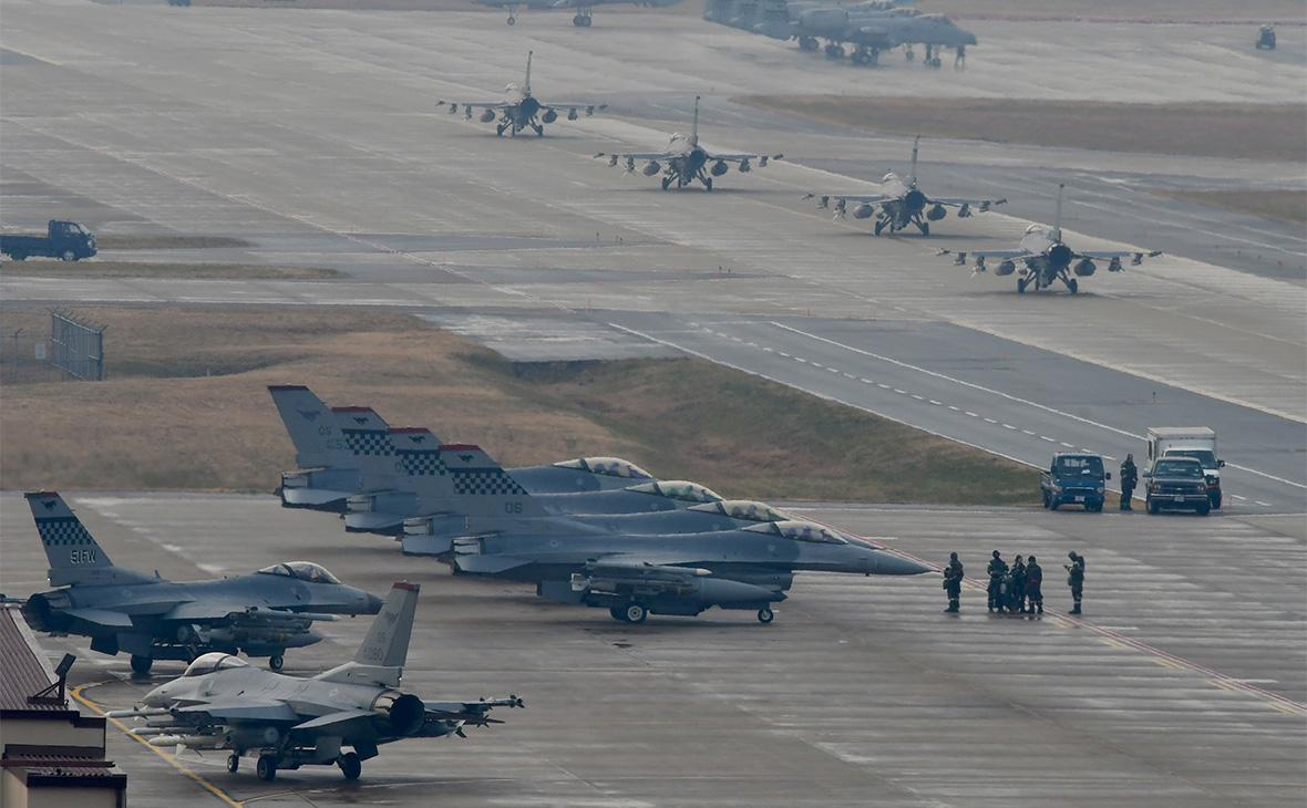 ВВС США собрались увеличить число боевых эскадрилий из-за России и Китая ::  Политика :: РБК
