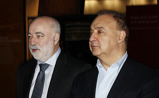 Бывшие акционеры ТНК-BP Виктор Вексельберг и Леонард Блаватник (слева направо)