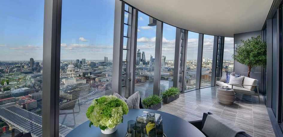 Жилой комплекс One Blackfriars в Лондоне