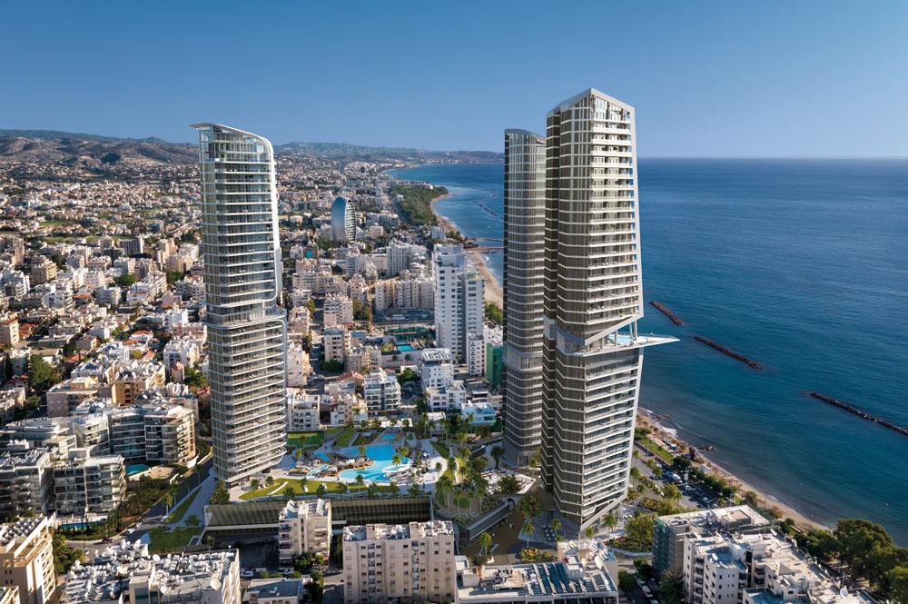 Комплекс небоскребов Trilogy Limassol Seafront