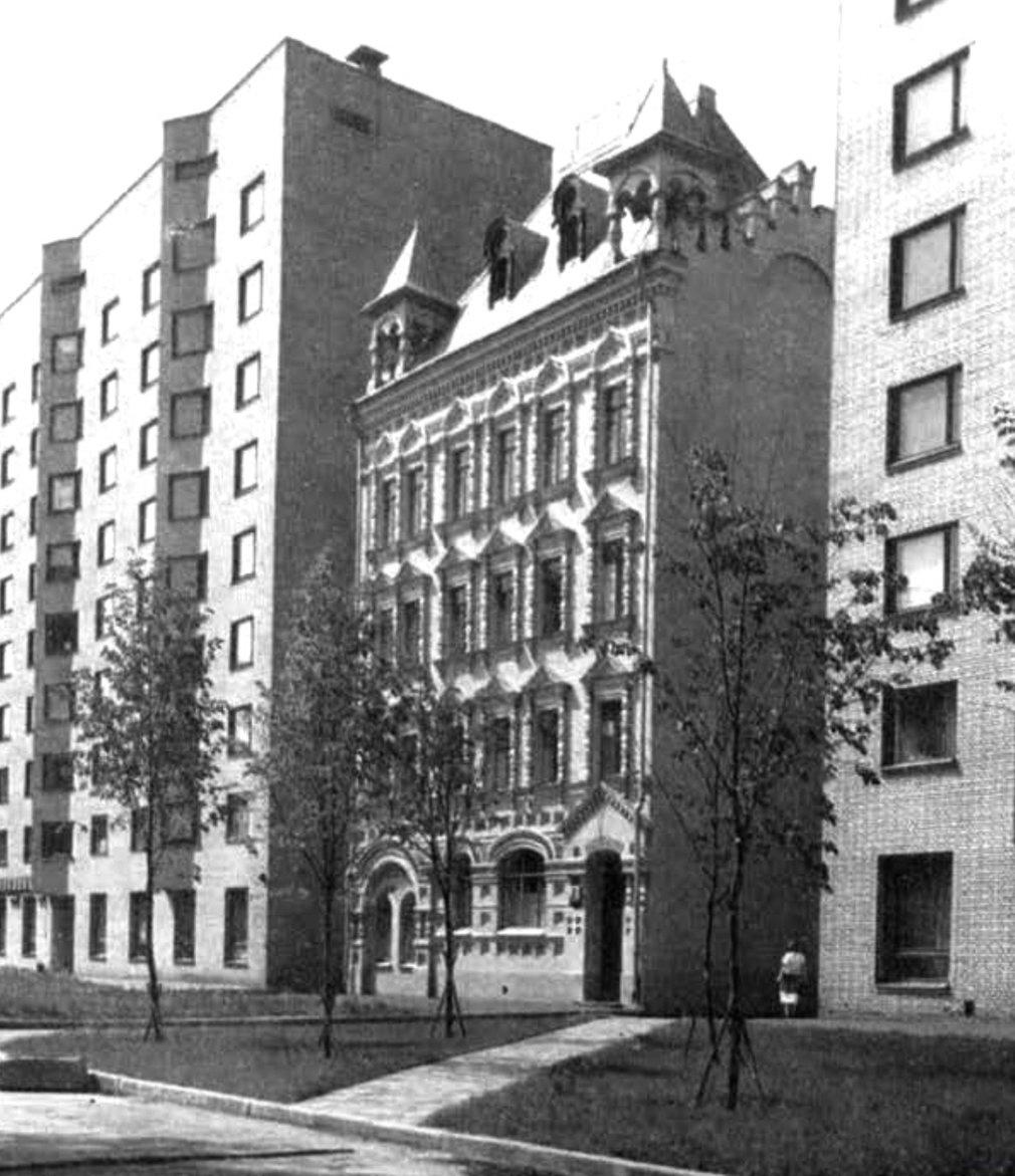 Вид здания в середине XX века