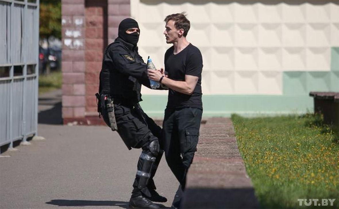 Задержания у завода имени Козлова в Минске