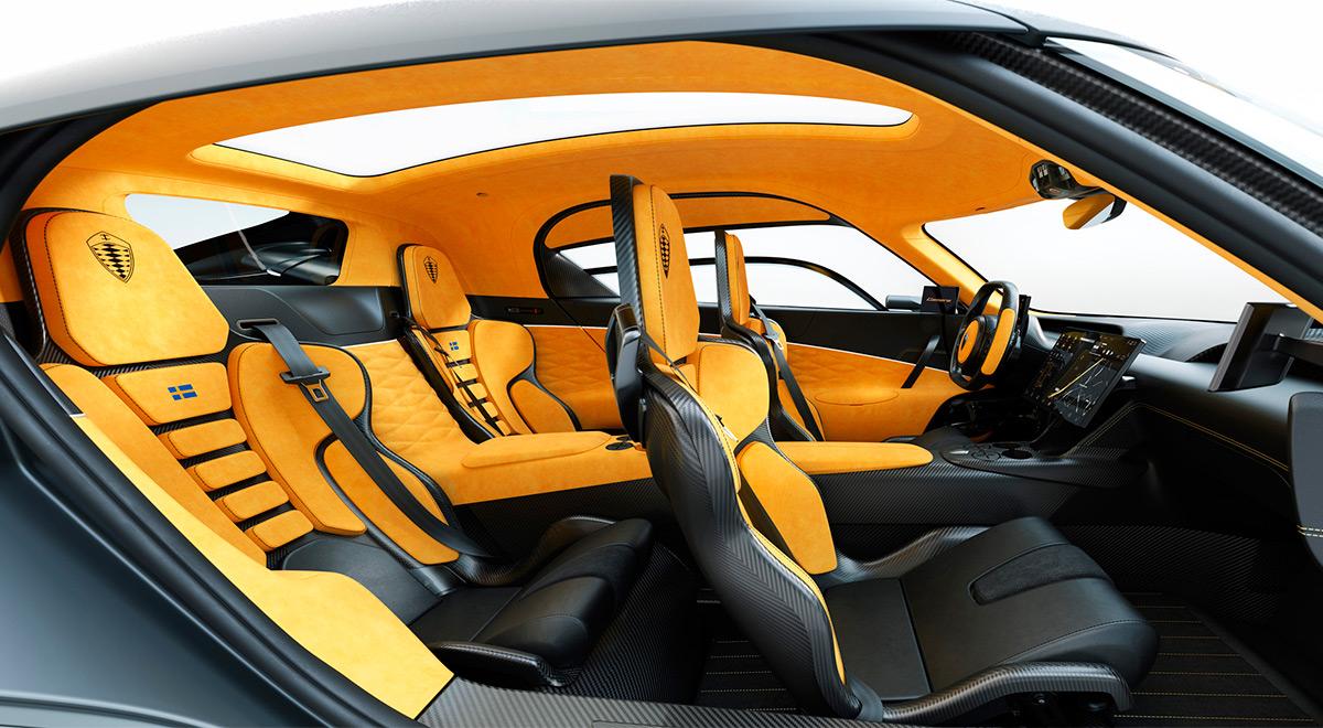 <p>Koenigsegg Gemera</p>