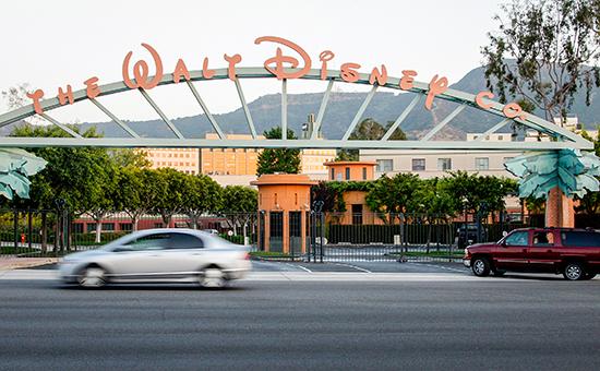 Главные ворота The Walt Disney Co