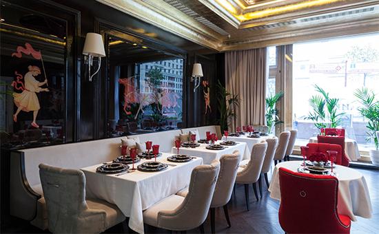 Интерьер ресторана «Гранд-кафе «Dr. Живаго»