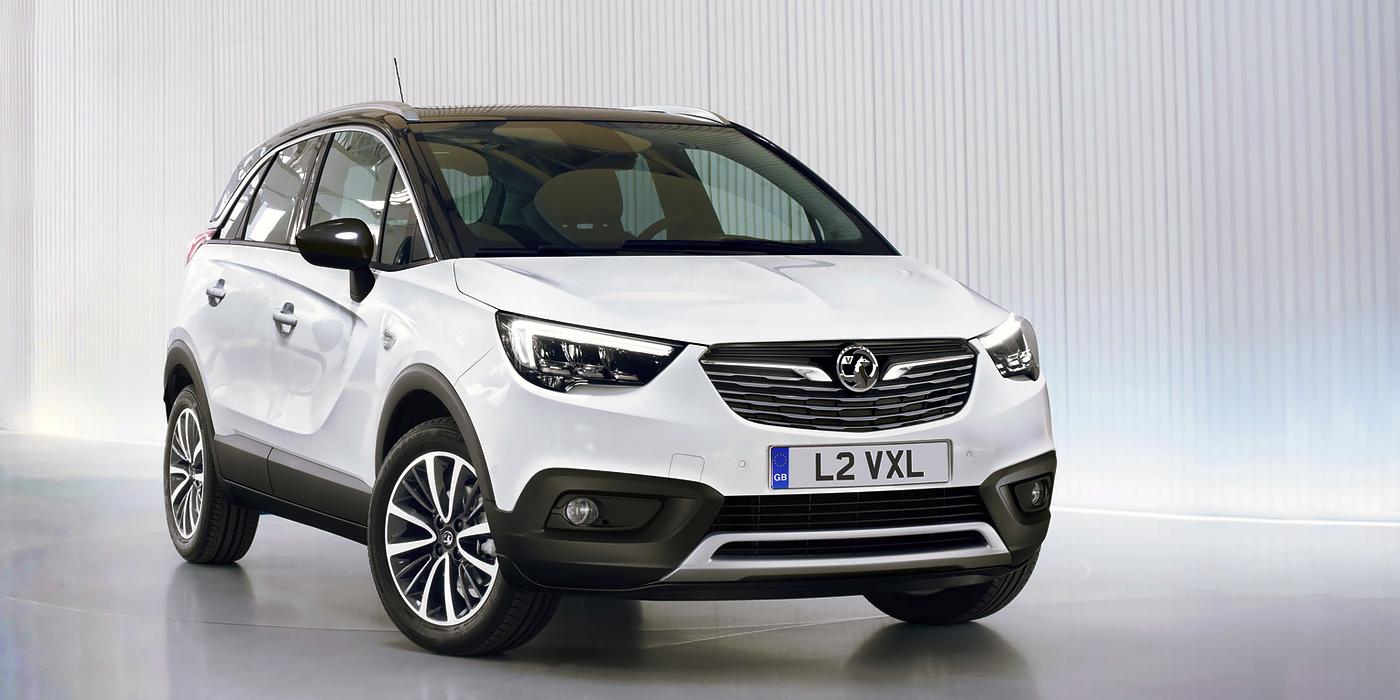 Opel Crossland X на французской платформе также будет выпускаться под брендом Vauxhall