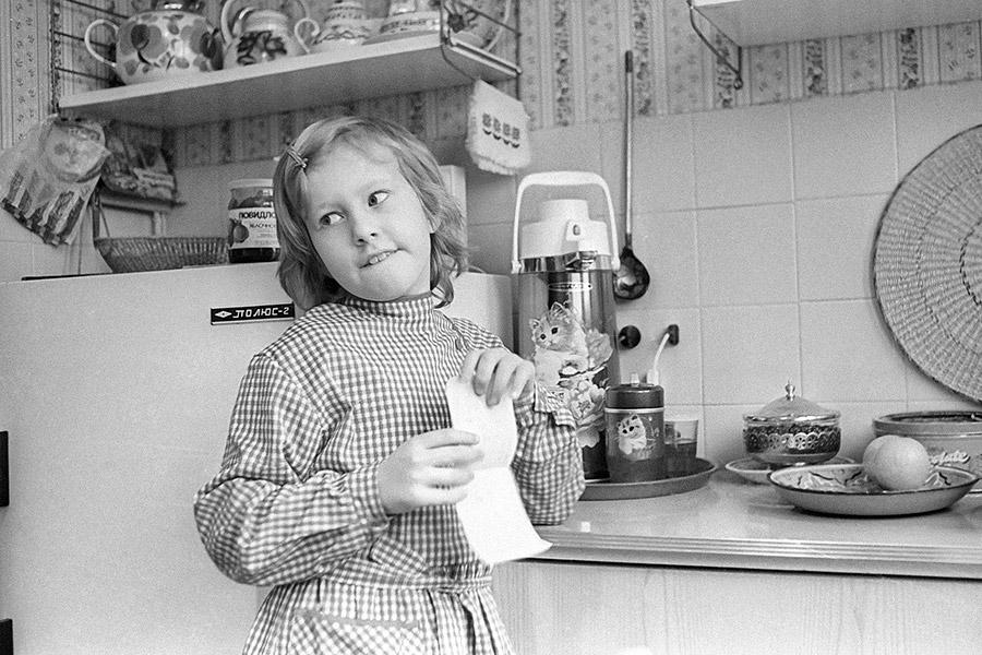 Ксения Собчак. 1990 год