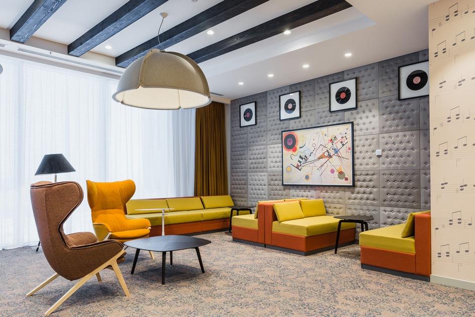 Номинация «Реновация офиса» Офис компании Microsoft / архитектурное бюро UNK project