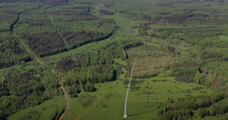 Так выглядел запуск «Вятки» на кировском полигоне