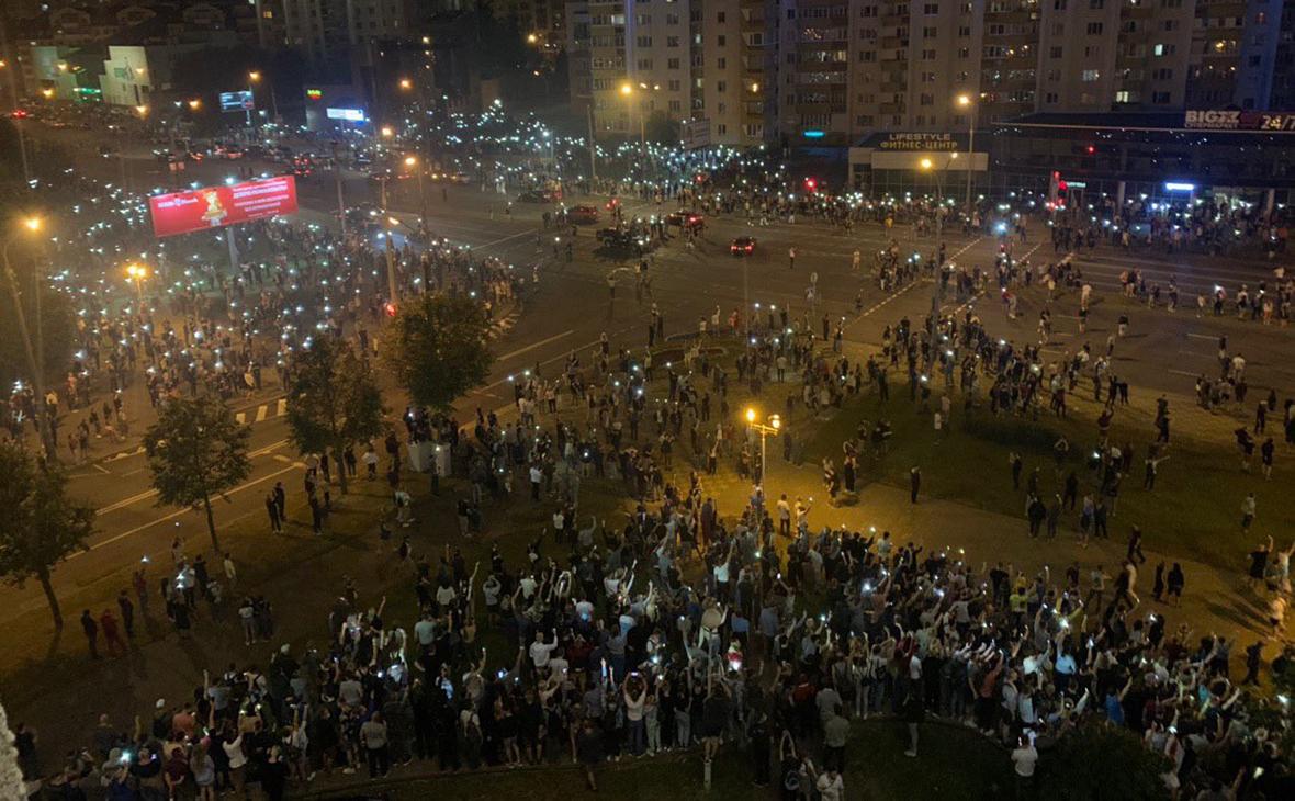 В представительстве России при ООН сравнили протесты в Минске с ...