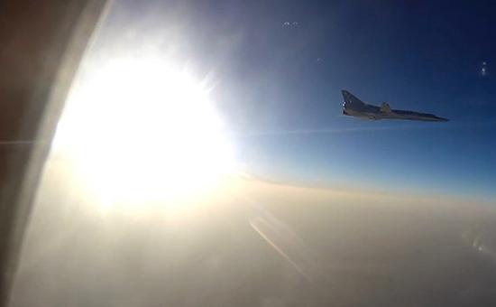 Боевой вылет самолетовВКС РФ вСириюс иранской авиабазы Хамадан, 16 августа 2016 г.