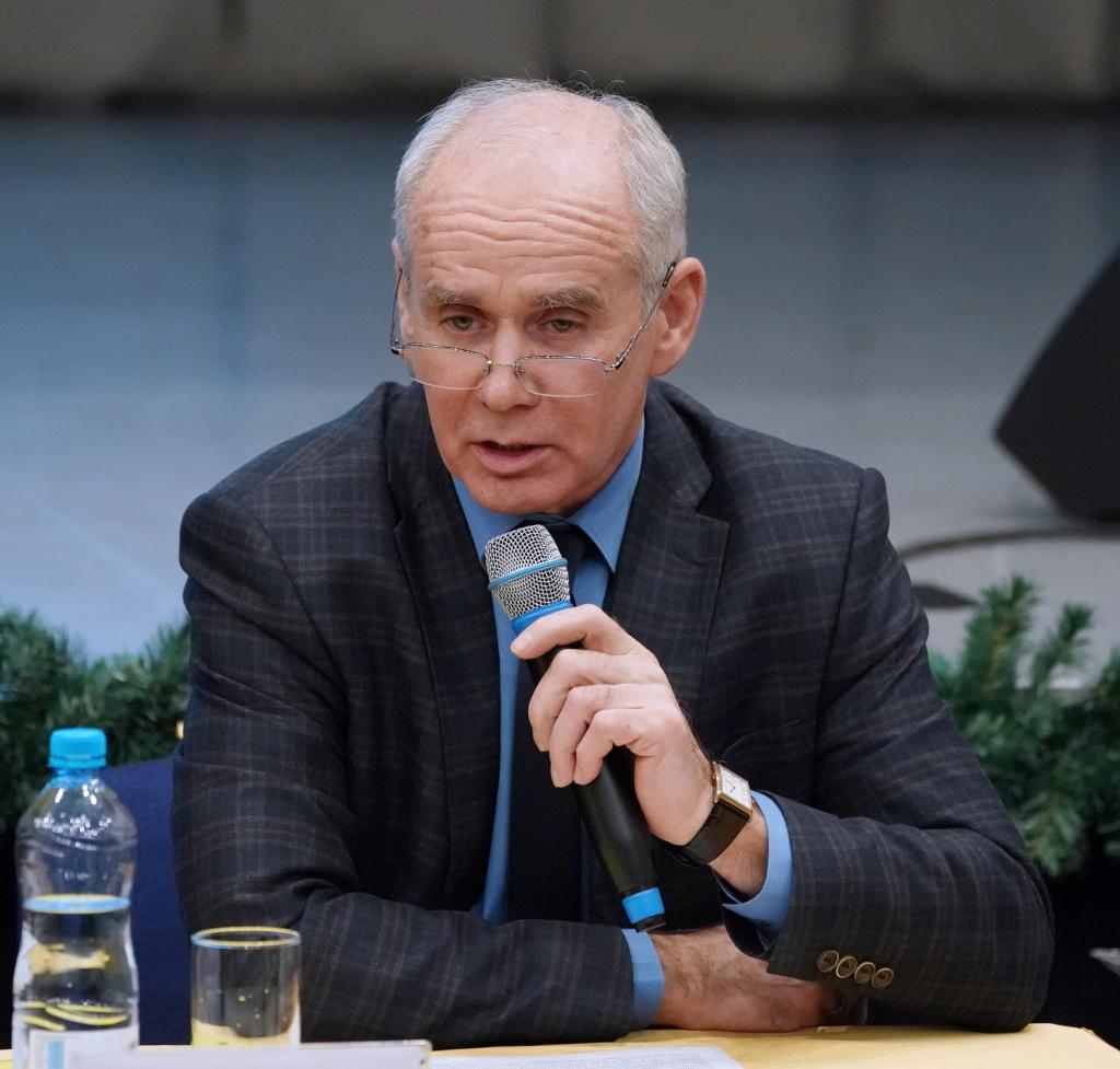 На фото: Сергей Юспин