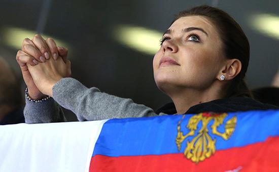 Олимпийская чемпионка похудожественной гимнастике Алина Кабаева
