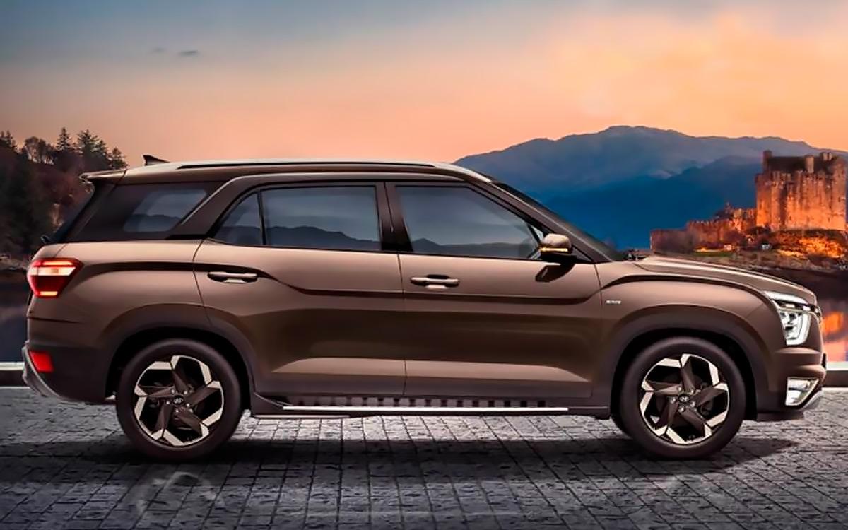 Hyundai представил семиместную версию кроссовера Creta