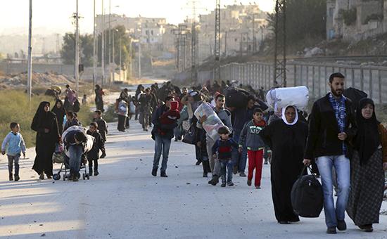 Восточный район Алеппо, мирные жители