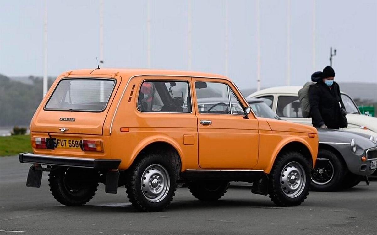 Lada Niva в съемках нового эпизода передачи Top Gear.