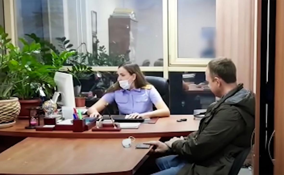 Андрей Левченко задержан по делу о мошенничестве