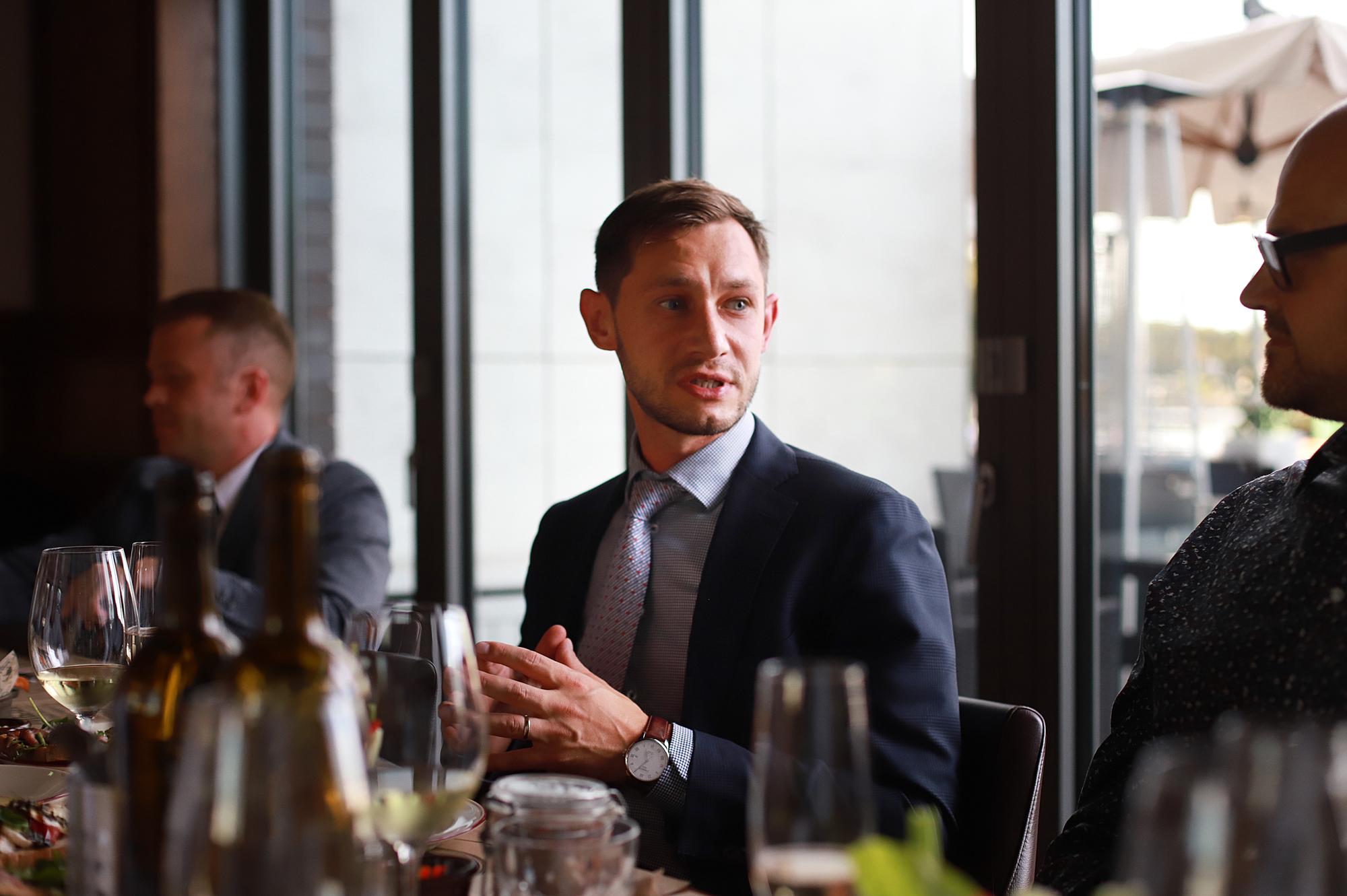 Фото:Генеральный управляющий отеля Mercure Александр Белкин
