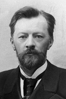 Владимир Шухов (1853-1939) - русский инженер, архитектор, изобретатель, ученый. Фотография 1891г.