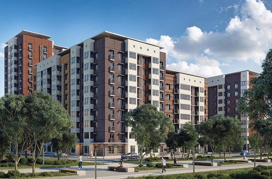 Современные типовые дома экономкласса отпроектного архитектурного бюро «БРТ РУС»