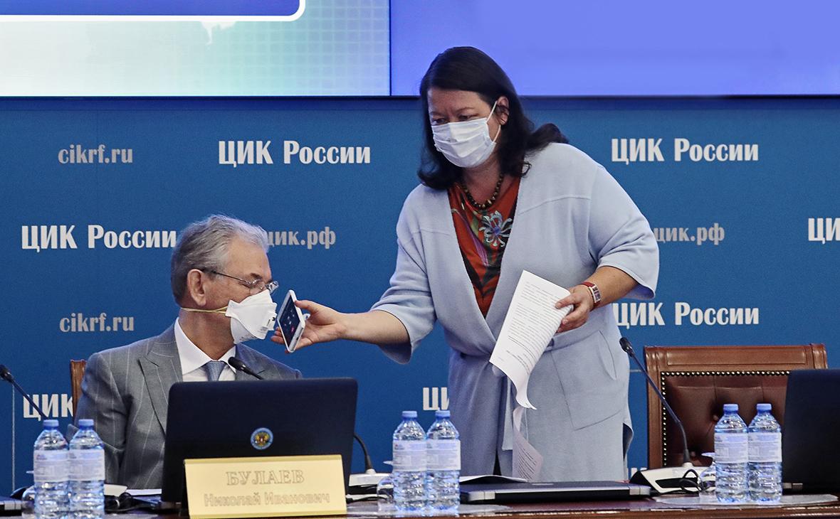 Николай Булаев и Майя Гришина
