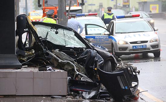 ДТП со смертельным исходом в Москве