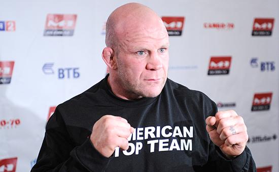 Американский борец по смешанным боевым искусствам Джефф Монсон