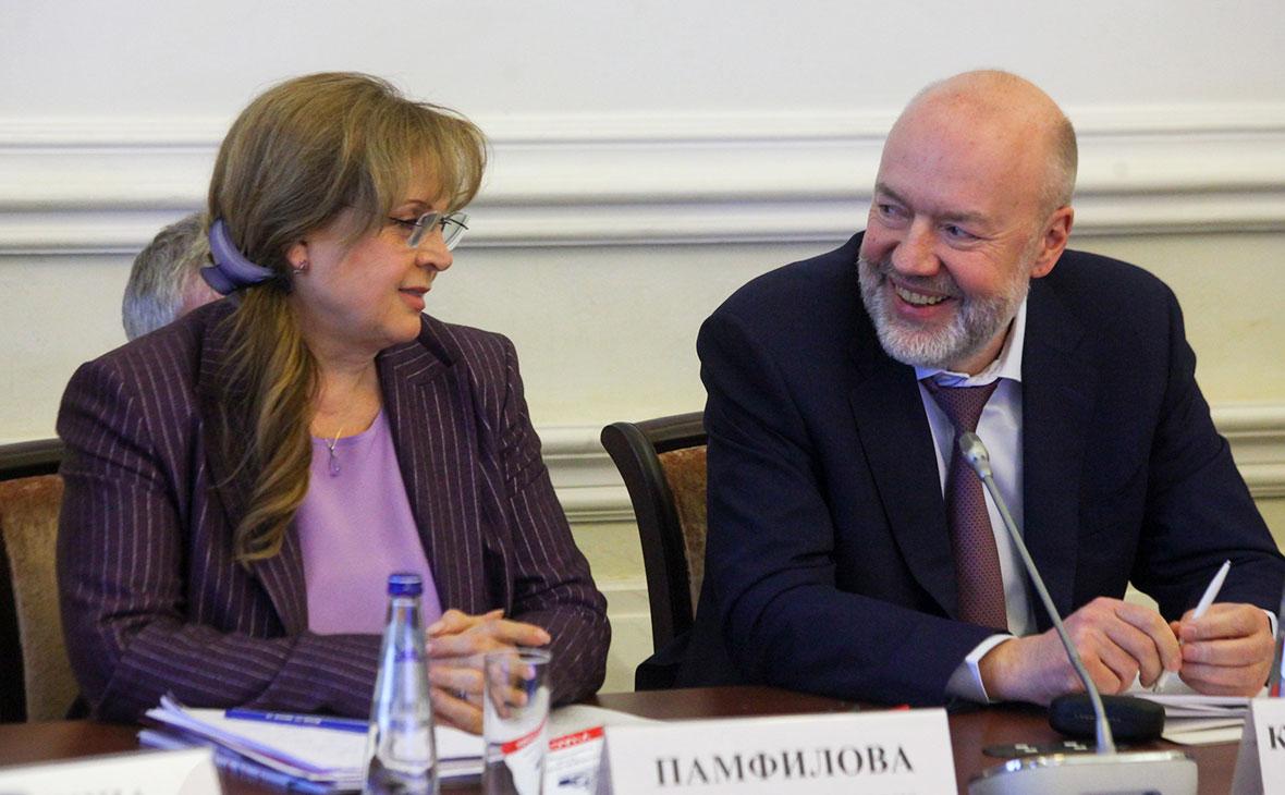 Элла Памфилова и Павел Крашенинников