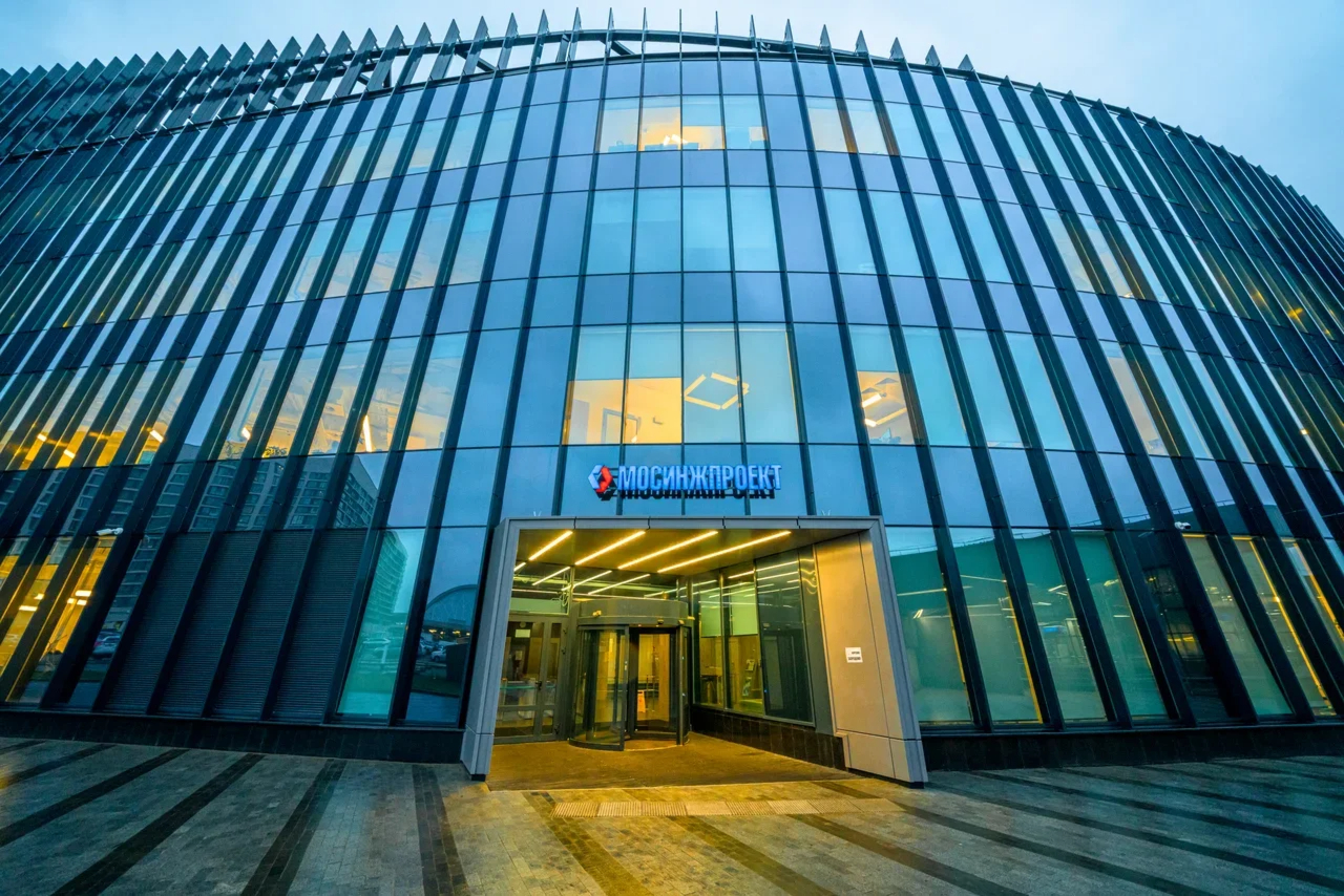 Головной офис холдинга «Мосинжпроект» на Ходынском бульваре