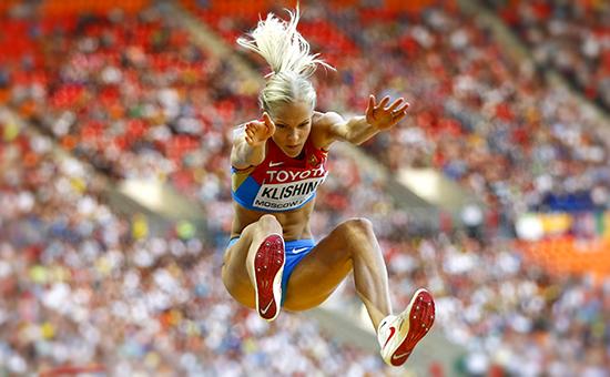 Единственной российской легкоатлеткой, получившей право выступить наИграх вРио, осталась прыгунья вдлину Дарья Клишина