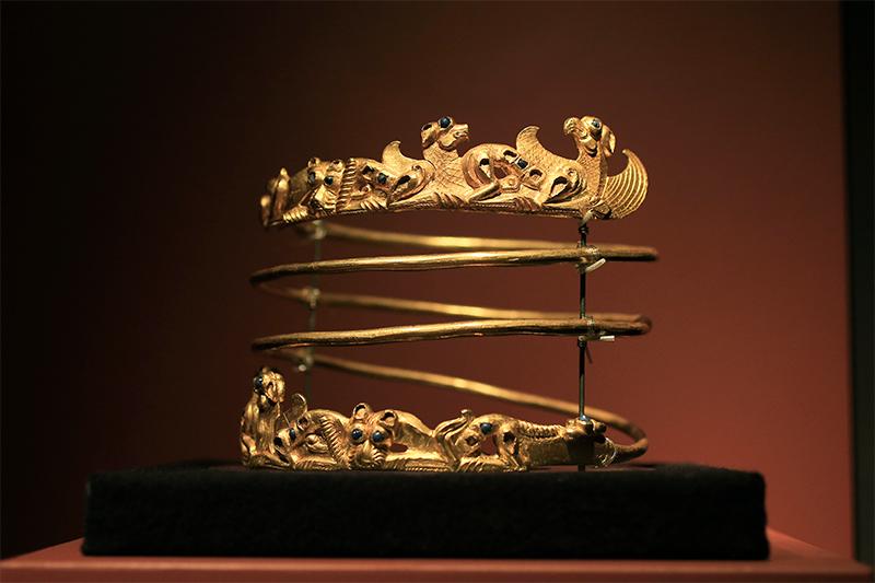 Металлическое ожерелье, II в.н.э.