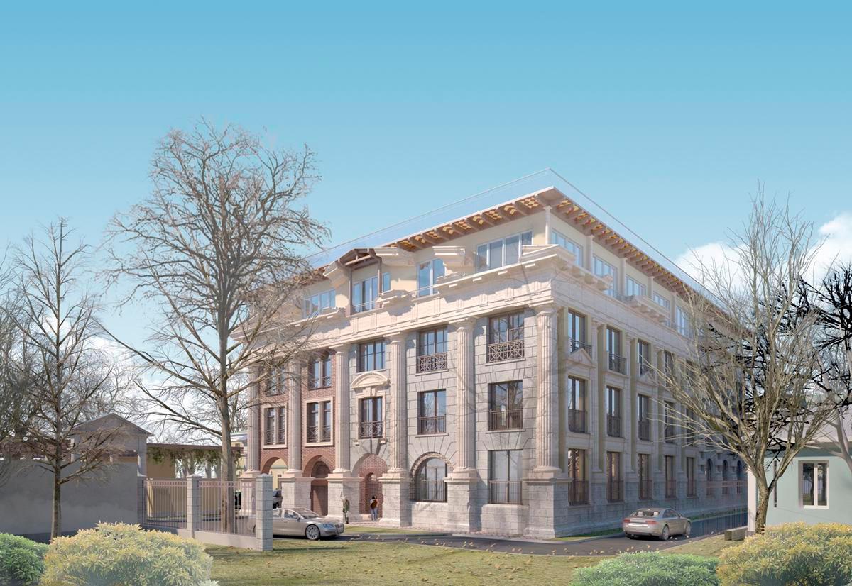Четырехэтажный клубный дом Palazzo Imperiale расположен в районе Хамовники, недалеко от Якиманки. Жилое пространство представлено одно-, двух, трех- и четырехкомнатными квартирами площадью до 166 кв. м. Во всех квартирах установлены панорамные французские окна. Подробнее...