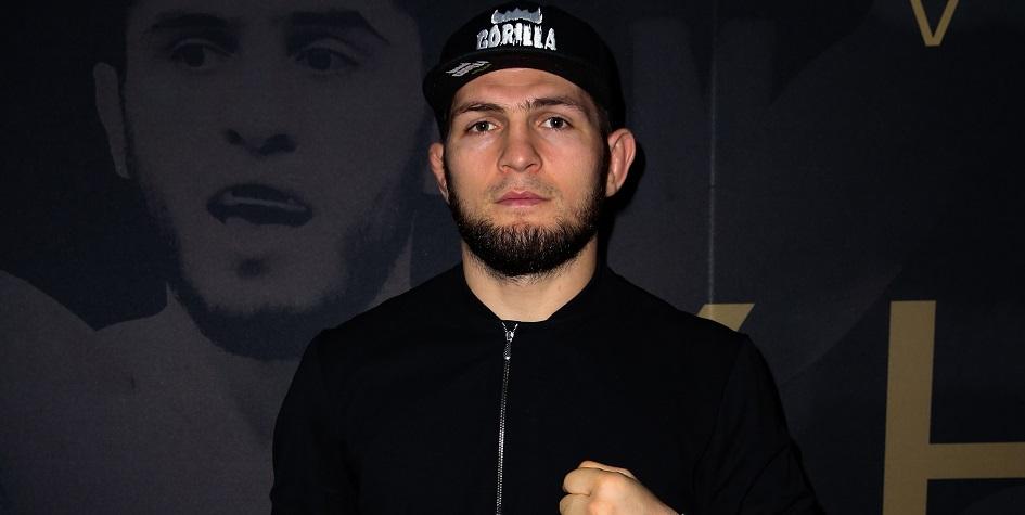 Чемпион UFC в легком весе Хабиб Нурмагомедов