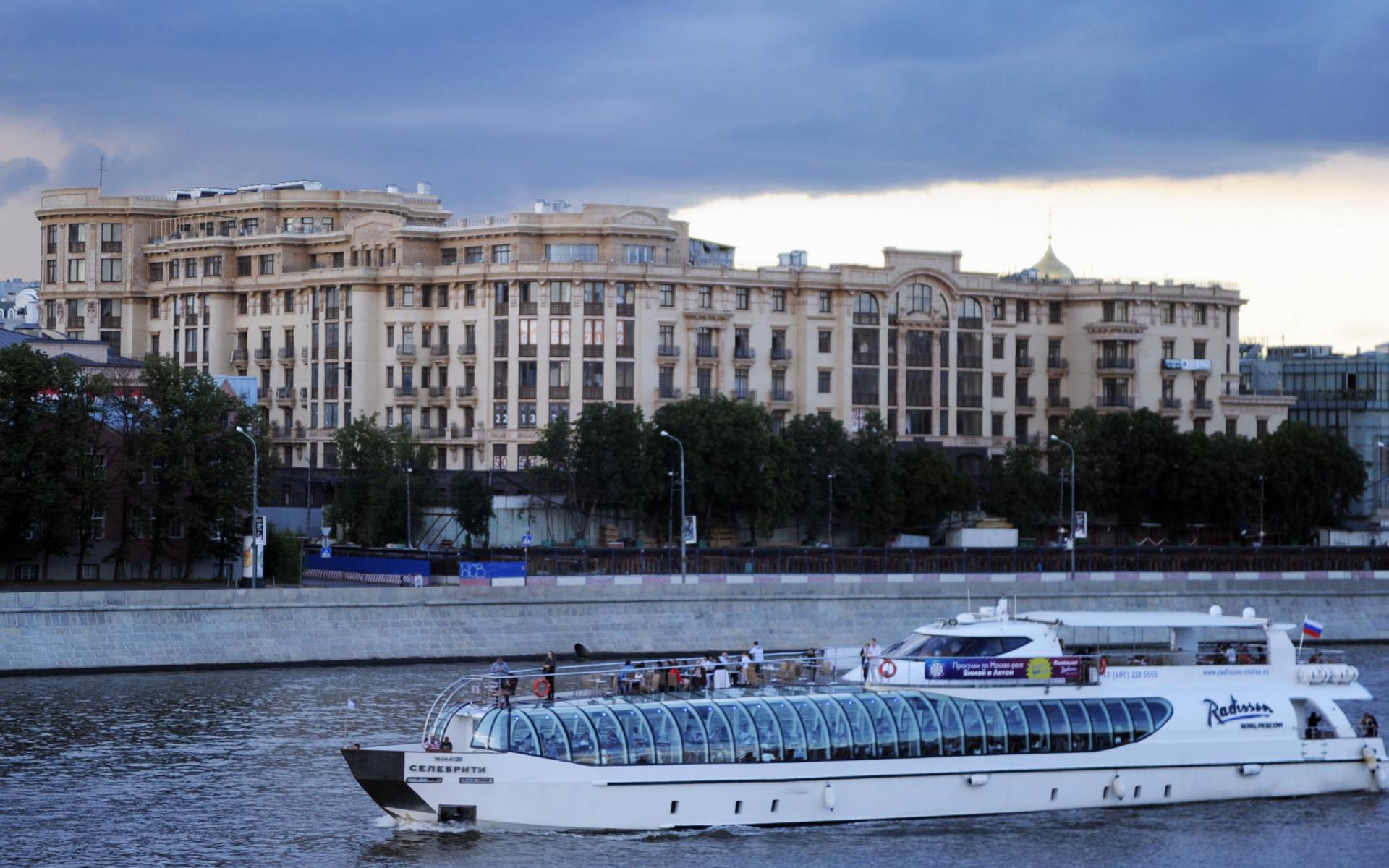 Вид на элитный ЖК на «золотой миле» в Москве