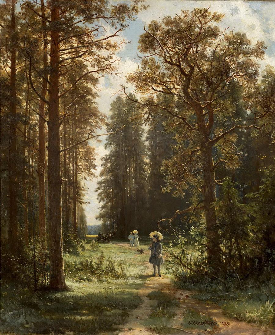 Иван ИвановичШишкин«Дорога в лесу»