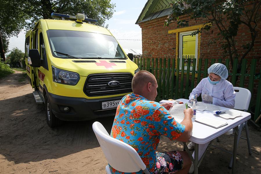Вакцинация населения от COVID-19 в РеспубликеТатарстан