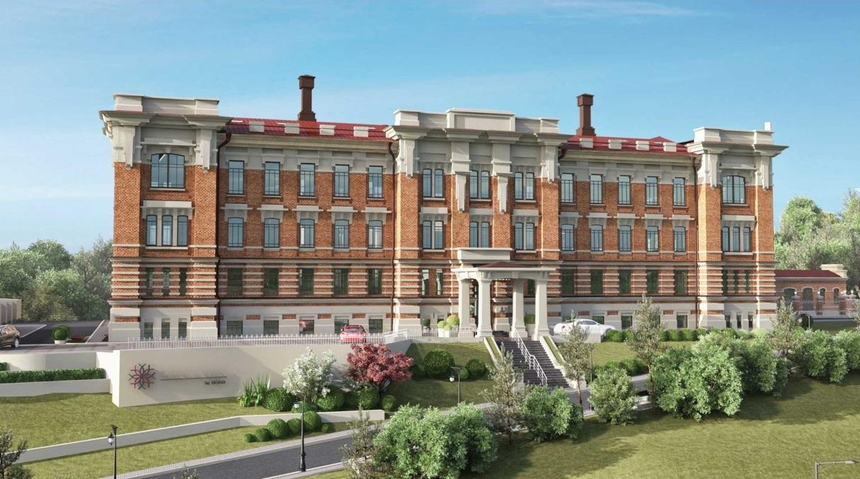 Здание бывшей Шамовской больницы полностью сохранило свой фасад, а также некоторые архитектурные формы внутри. Например, по требованию реставраторов, была сохранена большая старинная лестница