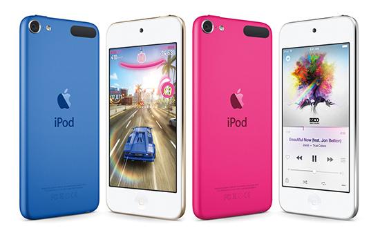 Обновленныймузыкальный плеер iPod Touch
