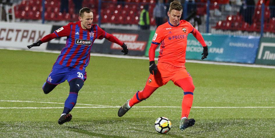 ЦСКА и «СКА-Хабаровск» забили шесть голов на двоих в матче при —17 °С