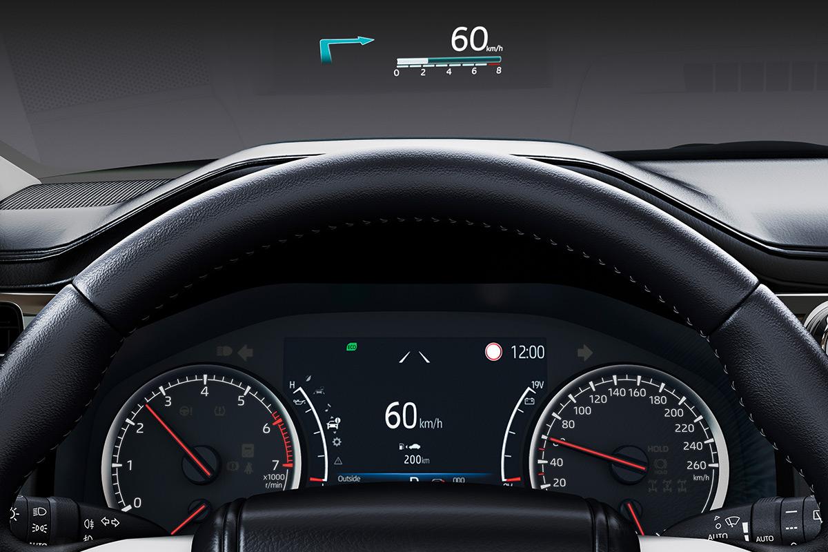 "Приборная панель и проекционный дисплей&nbsp;Toyota Land Cruiser 300 <div id=""gtx-trans"" style=""position: absolute; left: -218px; top: 42px;""> <div class=""gtx-trans-icon""></div> </div>"