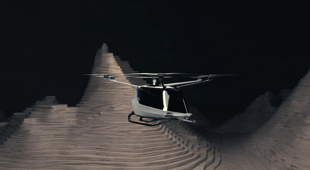 Проект водородного аэротакси Skai