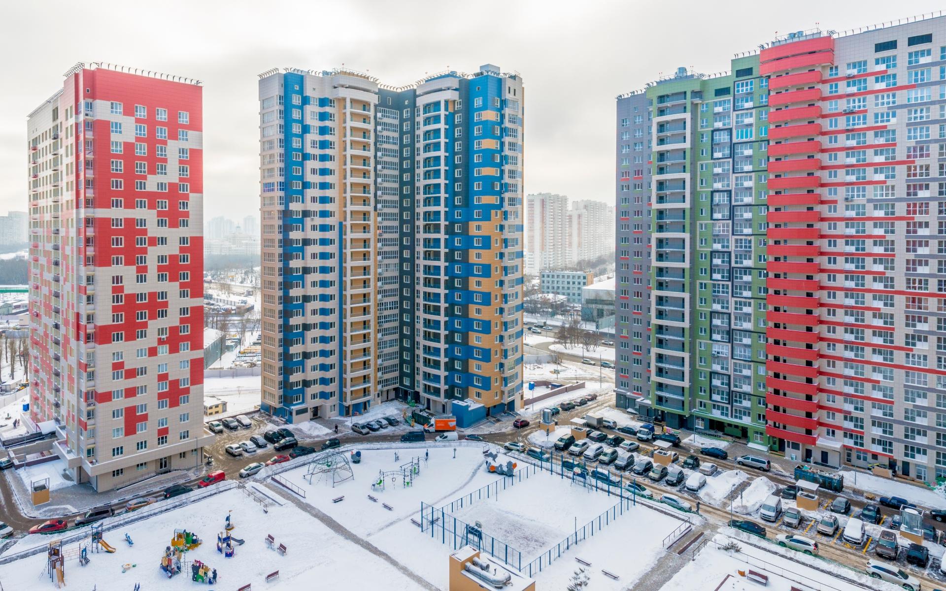 Новостройка в Москве
